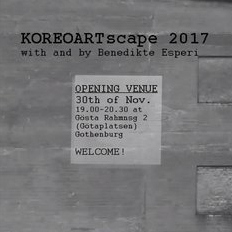 INVIGNING: KOREOARTscape