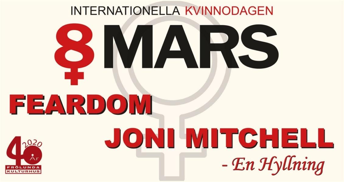 FEARDOM spelar på internationella kvinnodagen!