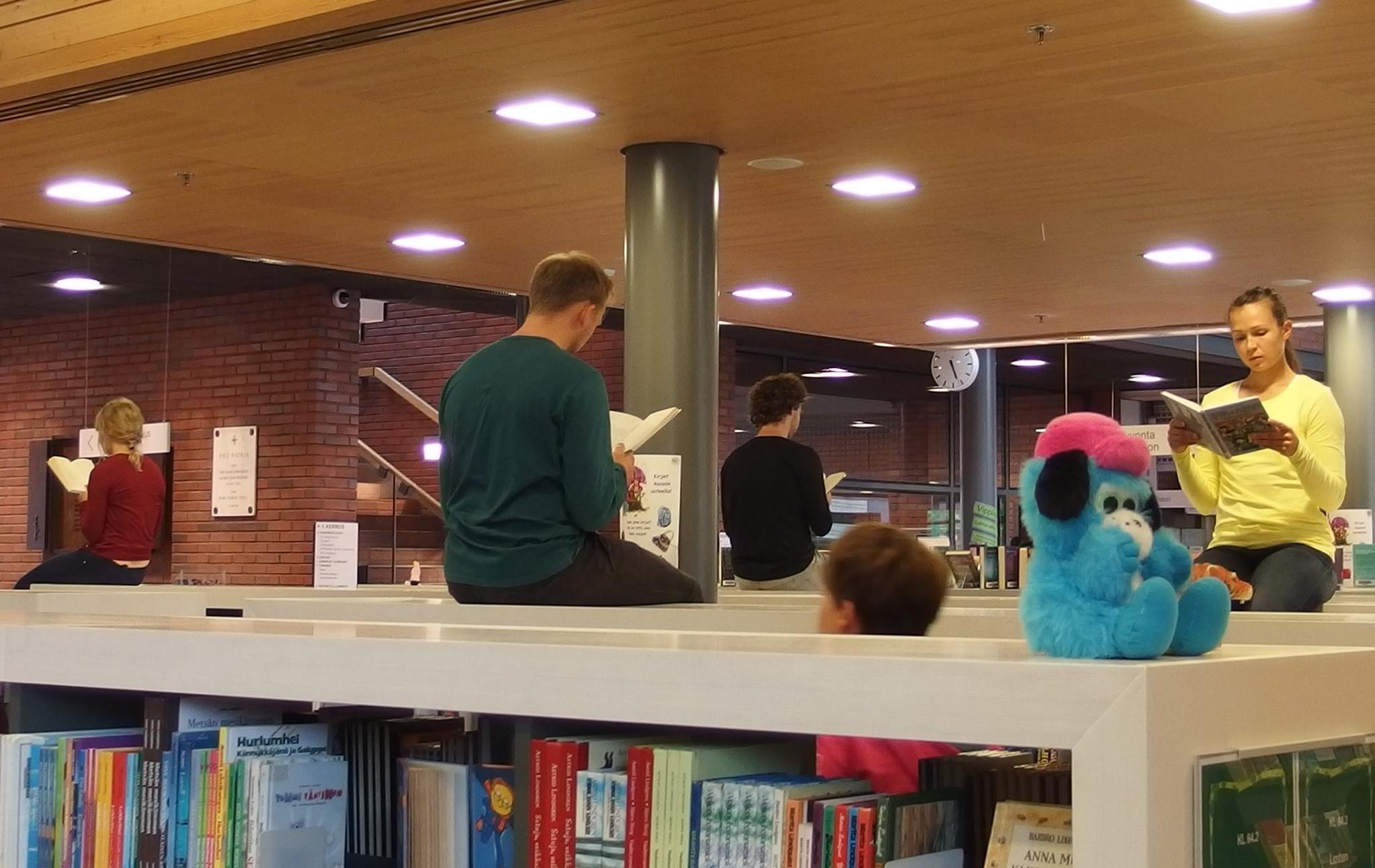 Library Stories av ReAct! till dansfestivalen Salto!