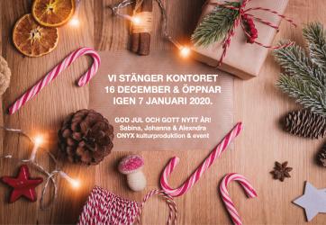 Julledighet på ONYX